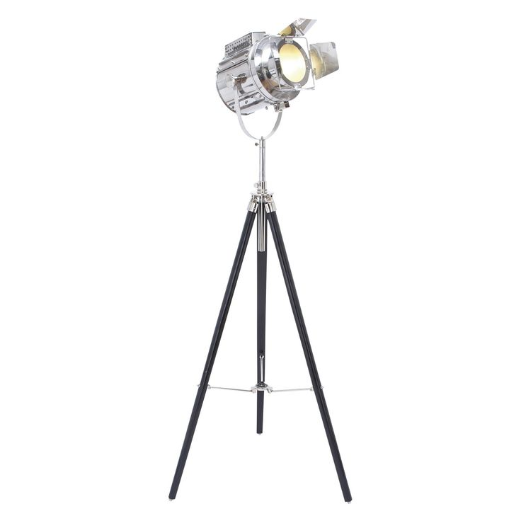 DecMode 46686 Tripod Spotlight Floor Lamp - 46686