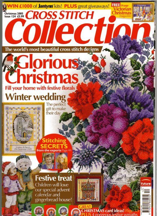 Cross-Stitch Collection Magazine.....lots of patterns