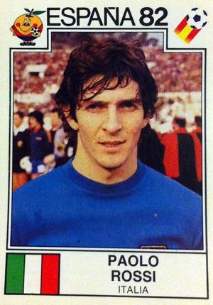 Paolo Rossi, mundial España 1982.