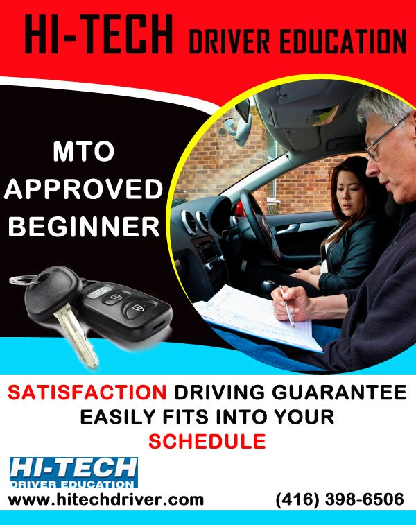 Lean the driving with Hi-tech driver education. Call at: (416) 398-6506 and visit our site: http://www.hitechdriver.com/ #drivingschool #cardrivingschool #northyork