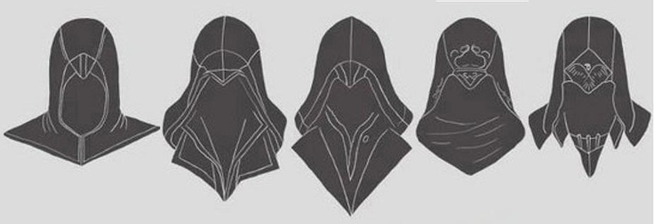 Hoods of the assassins