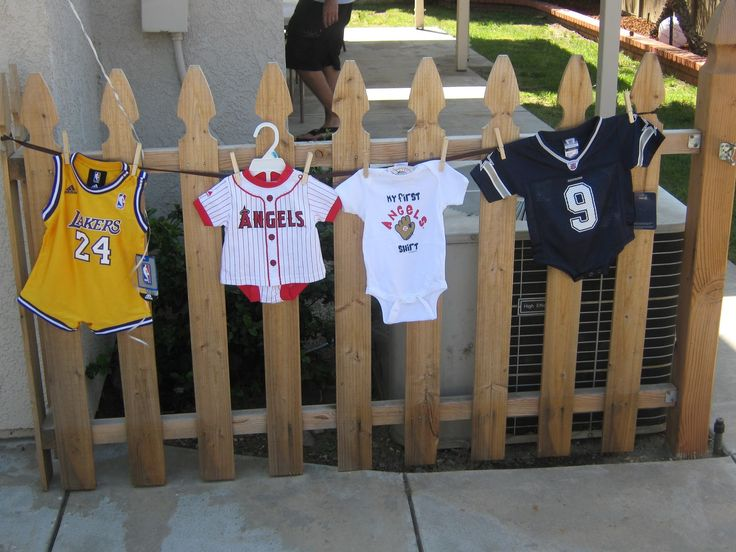 Happily Ever After Designs: Vintage Sports Baby Shower