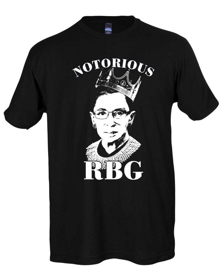 Notorious RBG Shirt - Notorious RBG T Shirt Hoodie Crewneck Sweatshirt - Ruth Bader Ginsburg Shirt - Feminist Shirt - RBG Shirt - Ruth Bader by SterlingPrintShop on Etsy