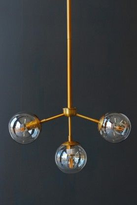 Cute Three Glass Globe Ceiling Light View All Lighting