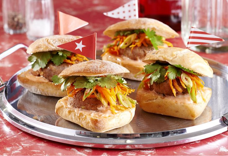 Put the flavours of Asia in a mini burger with these fab sliders.