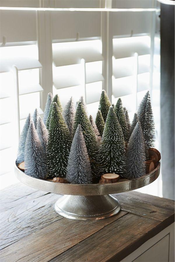 Rivièra Maison Official Online Store ® - Accessoires   Kerst   Kerst accessoires & Decoratie   Aspen Decoration Trees Snow L