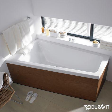 Duravit Paiova Badewanne Ecke links, Einbauversion