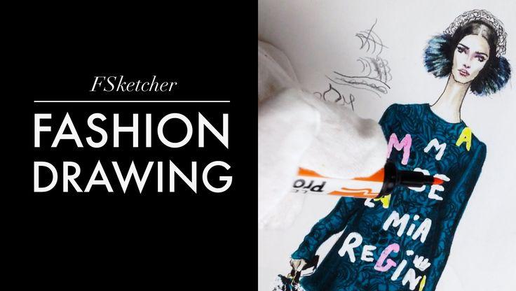 DOLCE&GABBANA Dress F'15 RTW   Fashion Drawing