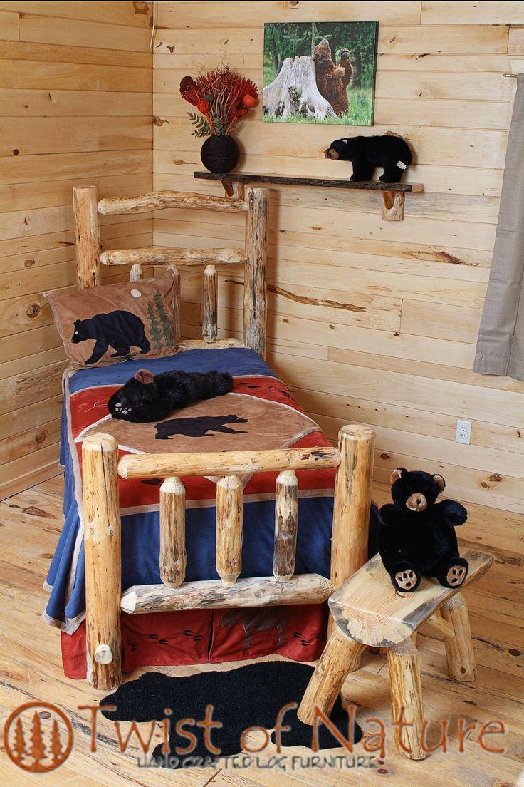 Deluxe Log Bed Frame Kit