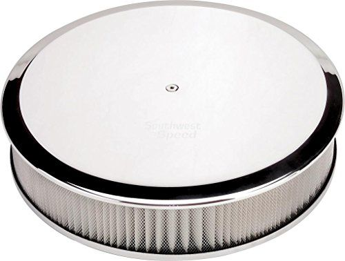 "NEW BILLET SPECIALTIES POLISHED ALUMINUM, LARGE ROUND AIR CLEANER ASSEMBLY, 14"" DIAMETER X 3"" TALL WITH K&N LIFETIME FILTER ELEMENT & STAINLESS STEEL HARDWARE Southwest Speed http://www.amazon.com/dp/B00XWPI8X6/ref=cm_sw_r_pi_dp_9rjxvb0PKGGAK"
