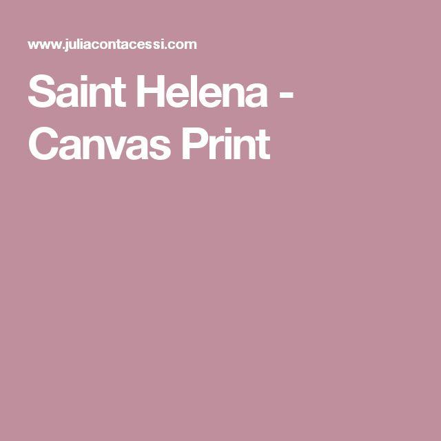 Saint Helena - Canvas Print