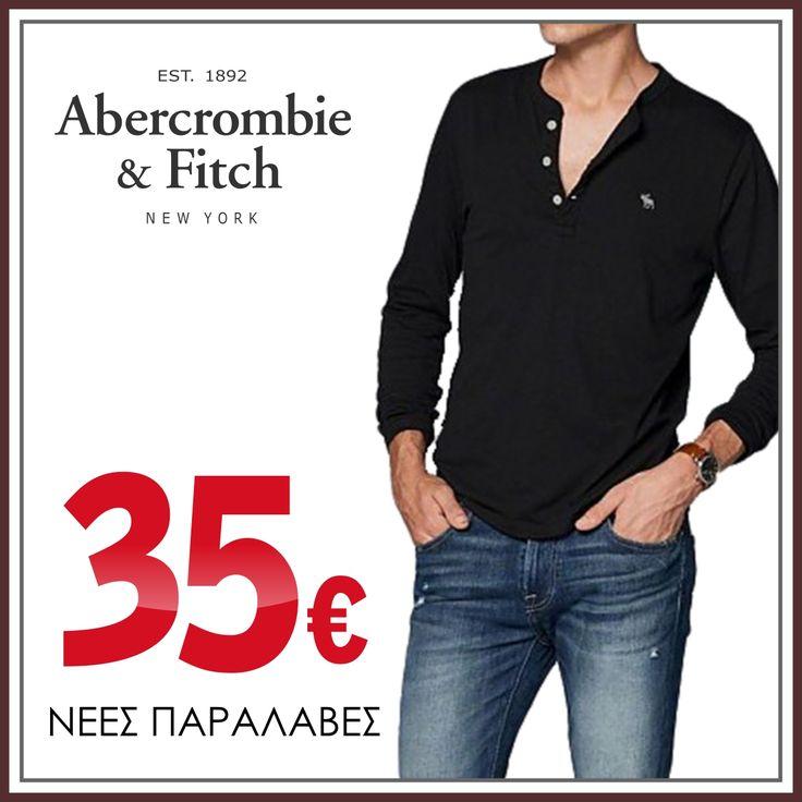 Μακό μακρυμάνικη μπλούζα Abercrombie & Fitch