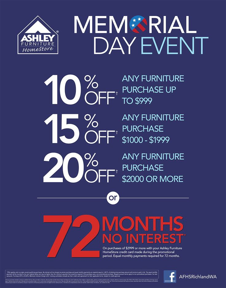 Memorial Day Event. Savings On Every Level! May 13th, 2014 Through June 3rd