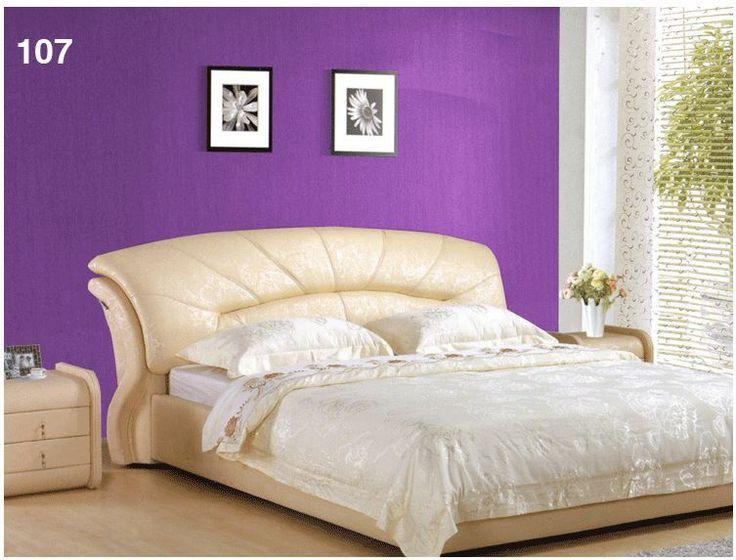 Purple And Beige Cream Bedroom
