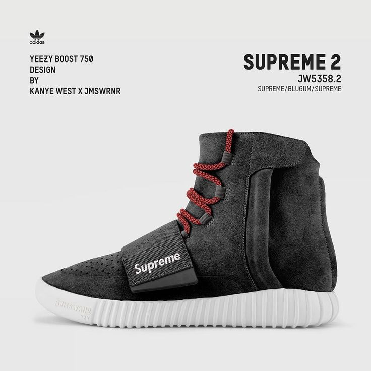 buy popular 8f8e3 e32f7 Yeezy Boost 750   Supreme 2  yeezyboost750  yeezy  design  supreme   yeezysupreme  minimal   Shoes   Sneakers, Adidas sneakers, Adidas