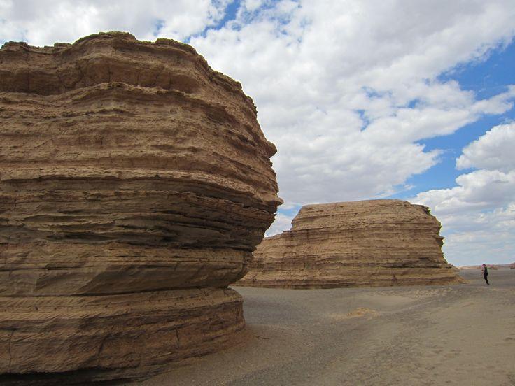 Rock formations in the Gobi Desert 8