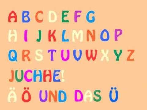 ▶ Das deutsche Alphabet-Lied (German Alphabet Song) - Learn German easily - YouTube