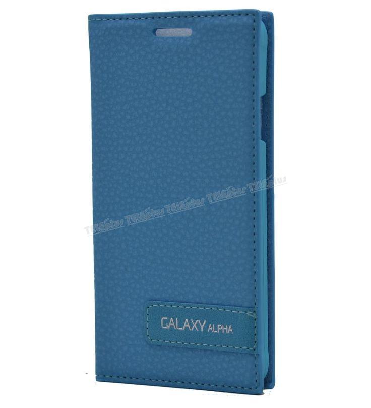 Samsung Galaxy Alpha Safir Kılıf Turkuaz -  - Price : TL28.90. Buy now at http://www.teleplus.com.tr/index.php/samsung-galaxy-alpha-safir-kilif-turkuaz.html