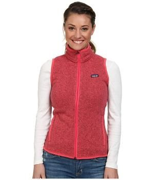 Cheap Patagonia Better Sweater Fleece Vest Ginger Berry Compare by pikkiefeel