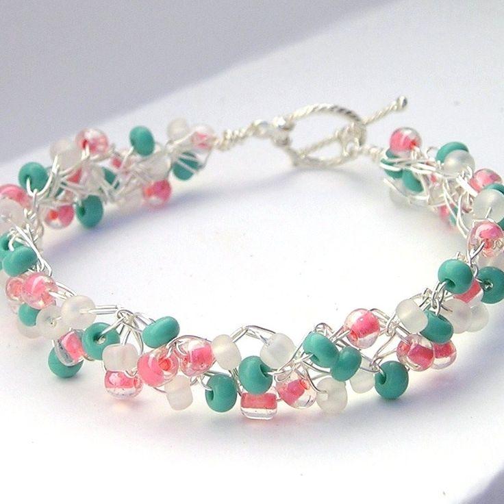 58 best Jewelry - Crochet Wire images on Pinterest | Wire crochet ...