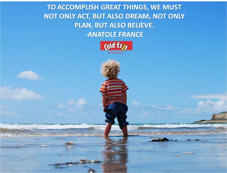 """""""To accomplish great things, we must not only act, but also dream, not only plan, but also believe."""" -Anatole France #MondayMotivation"""