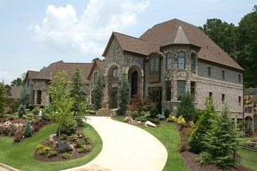 Luxury European Style Homes - traditional - exterior - atlanta - Alex Custom Homes, LLC