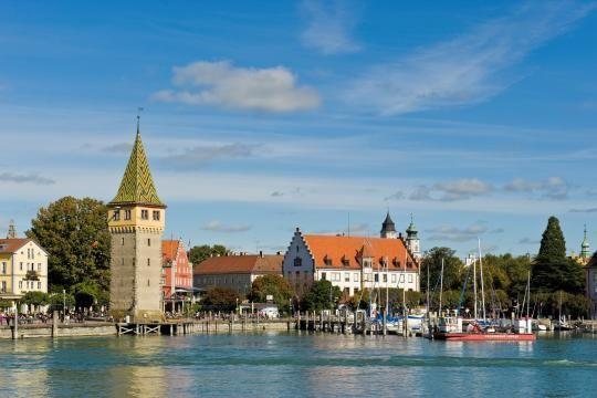 Lindau am Bodensee - für die Besucher ein Ort zum Entspannen: Hotel Helvetia in Lindau