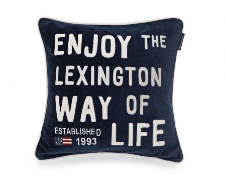 Message Sham from Lexington Home Fall 2016 Collection. www.lexingtoncompany.com