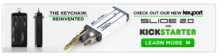 Keychain Reinvented - Access Without the Excess | Keyport, Inc.