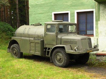 Tanker truck (CZ)