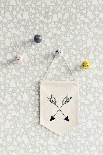 Ferm Living Shop — Mountain Tops Wallpaper