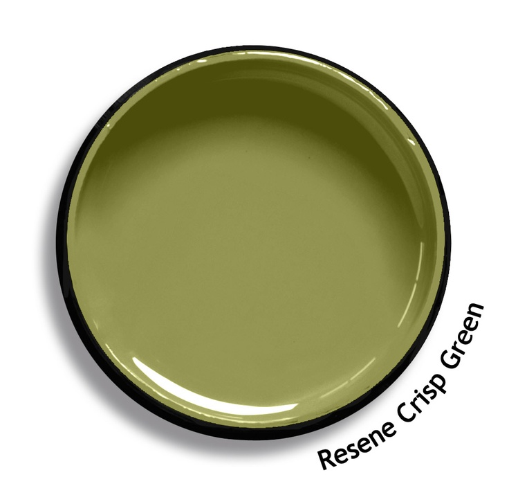 Resene Crisp Green is a mid tone green blended with yellow. From the Resene Karen Walker Paints colour range. Try a Resene testpot or view a physical sample at your Resene ColorShop or Reseller before making your final colour choice. www.resene.co.nz/karenwalker.htm