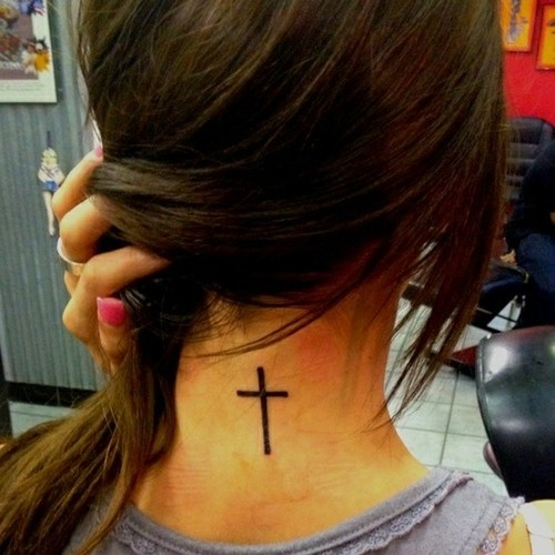 cross tattoos, christian tattoos and cross neck tattoos. tattoo tattoos ink
