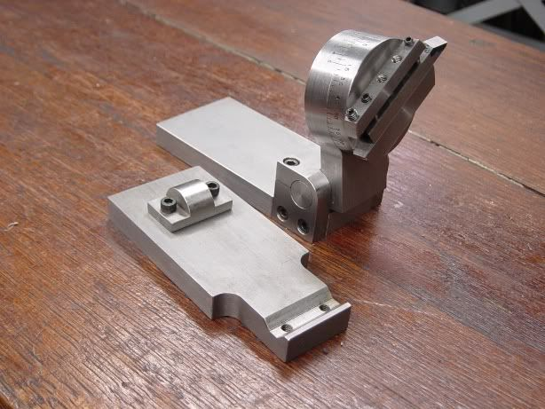 Precision Tool Grinding Fixture by DaveR -- Homemade precision tool grinding fixture designed to facilitate the use of a surface grinder to produce specific angles on cutting tools. http://www.homemadetools.net/homemade-precision-tool-grinding-fixture