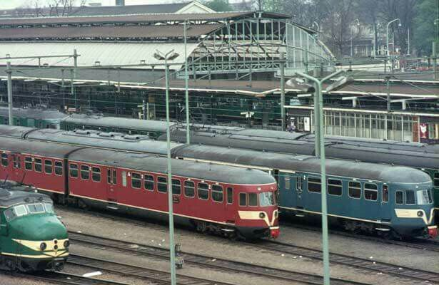 Station Zwolle '50/'60