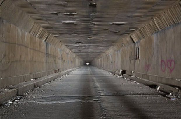 The old PA turnpike tunnels in Somerset County - how to find them.
