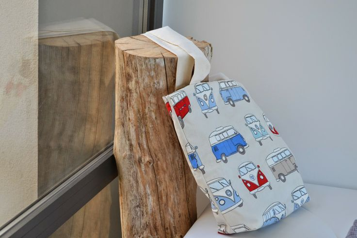 Vans Fabric Handmade Totebag