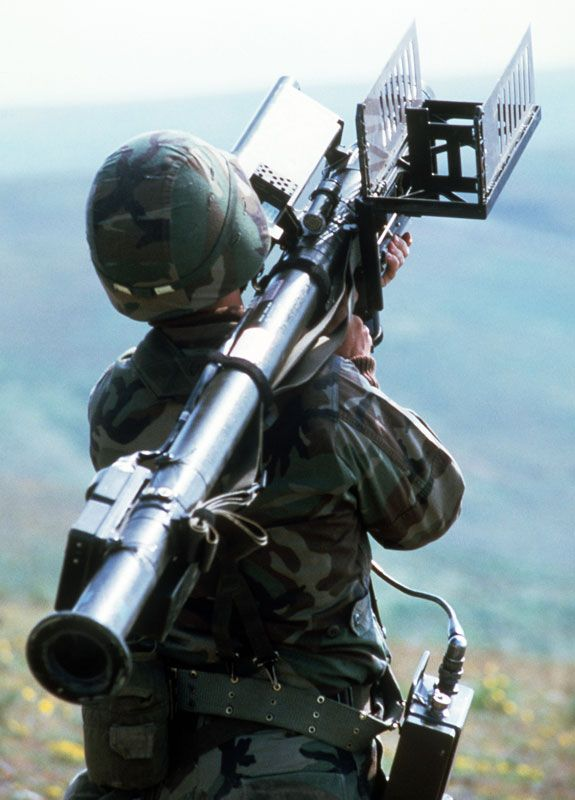 Picture of the General Dynamics / Raytheon FIM-92 Stinger