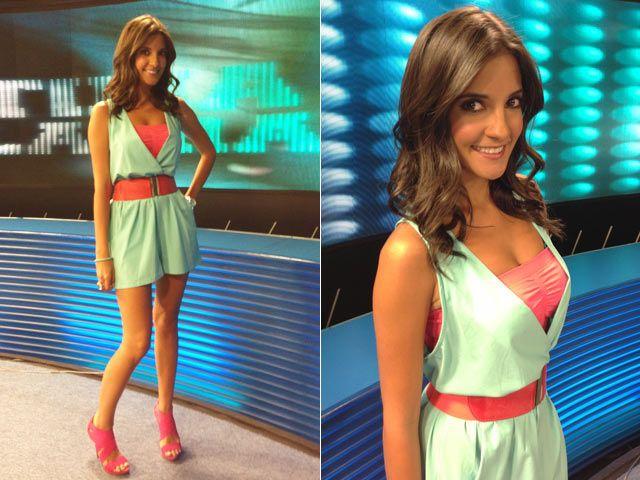 Presentadora de tv azteca - 1 2