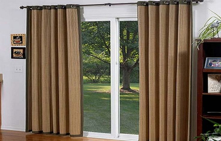 17 best ideas about sliding door coverings on pinterest - Curtain options for sliding glass doors ...