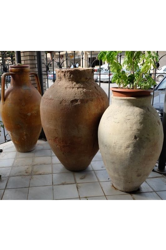 Giare in Terracotta - Antiquariato Siciliano