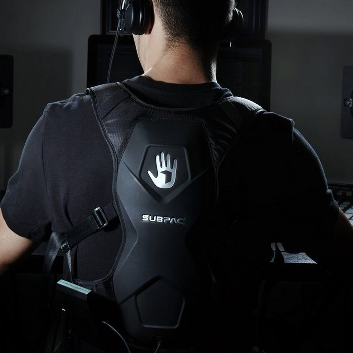 SubPac M2X Wearable Physical Audio System with Channel Studio Subwoofer