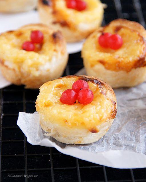 Nastoletnie Wypiekanie: Pastéis de nata- portugalskie ciasteczka