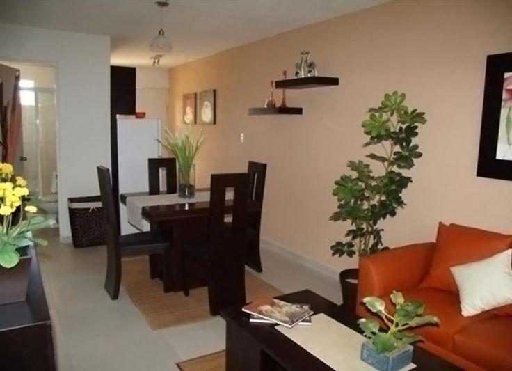 Sala y comedor casa for Como decorar sala