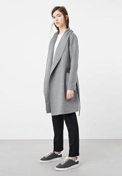 Mango - CIAN - Kurzmantel - grey