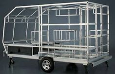 Camp Lite aluminum framing and structure