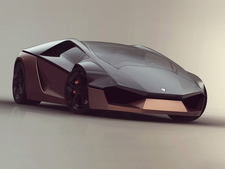 "Lamborghini Ganador (concept) ~ Miks' Pics ""Street Legal"" board @ http://www.pinterest.com/msmgish/street-legal/"