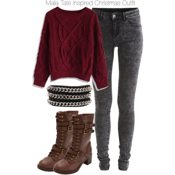 """""""Teen Wolf - Malia Tate Inspired Christmas Outfit"""" by staystronng on Polyvore"""