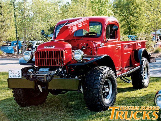 Tough Dodge Power Wagon