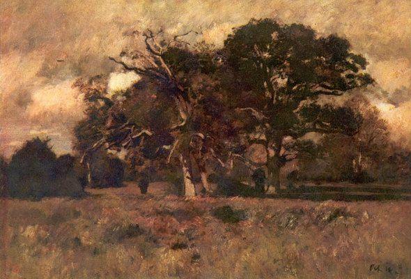 Paál László - Októberi szél (Magyar Nemzeti Galéria)- 1876